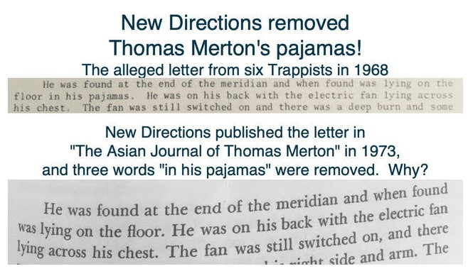The Thomas Merton Murder Covered Up